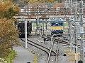 "Kumoya143-21 & hoper freight car ""Hoki"" of Tokyo・Omiya Synthesis Training Center.jpg"