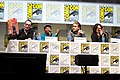 Kurt Sutter, Paris Barclay, Charlie Hunnam & Katey Sagal (9366073268).jpg