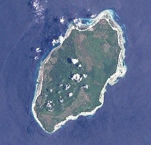 Kur Island - Landsat 7 photograph of Kur