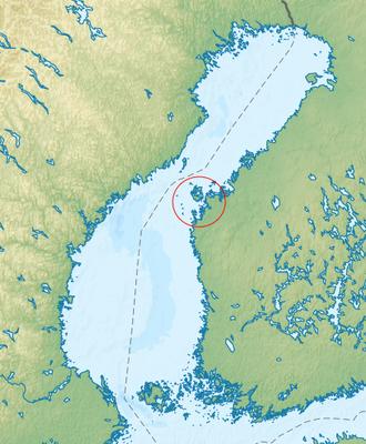Kvarken - Image: Kvarken Archipelago Finland
