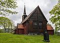 Kvernes Stavkyrkje, Averøy, East view 20150604 1.jpg