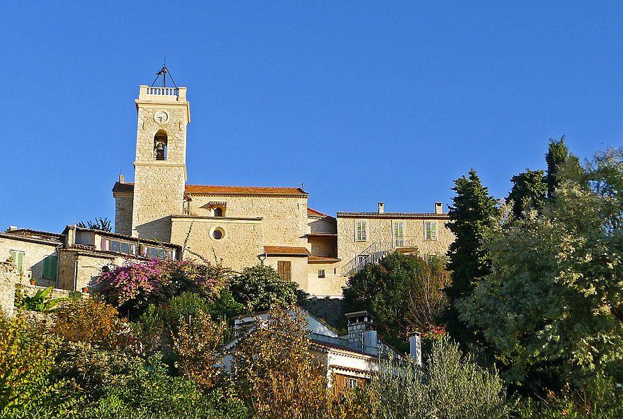 The church of La Gaude