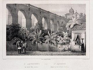 L'Aqueduc Depuis la Rue de Matta Cavallos