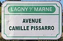 L3325 - Plaque de rue - Avenue Camille Pissarro.jpg