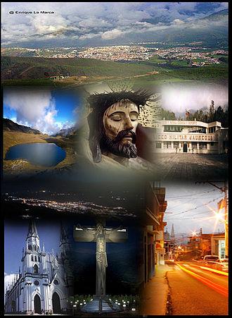 La Grita - Image: LA GRITA COLLAGE 1