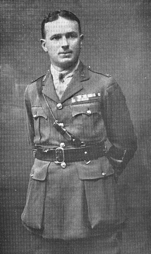 James Hargest - Hargest, pictured here as a lieutenant colonel, 1918.
