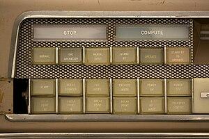 LGP-30 - The LGP-30 control panel.