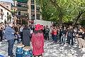 La ciudad de Madrid rinde homenaje al músico Jerry González 03.jpg