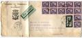 La lettre par avion depart Haïphong arrivée Saïgon 1949.png