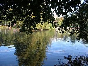 Lac de Sauvabelin - Image: Lac de Sauvabelin