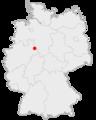 Lage der Stadt Blomberg in Deutschland.png