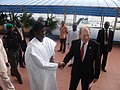 Lagos State governor received by Bob Dewar during Lord Mayor's visit to Nigeria (2631284164).jpg
