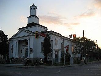 Cannon Street (Hamilton, Ontario) - Laidlaw Memorial United Church