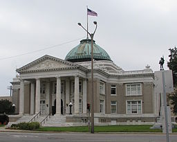 Calcasieu Parish Courthouse i Lake Charles.