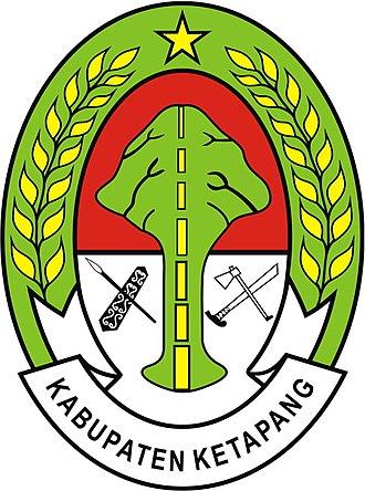 Ketapang Regency - Image: Lambang Kabupaten Ketapang