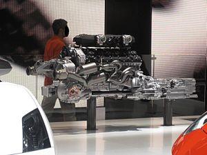 Lamborghini Aventador - Lamborghini Aventador 6.5 litre 60° V12 engine