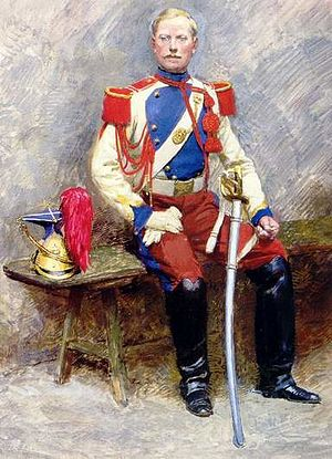 Imperial Guard (Napoleon III) - An officer of the Lancers of the Imperial Guard (Lanciers de la Garde impériale) in parade uniform.