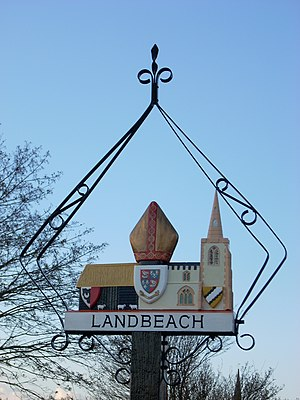 Landbeach - Village sign of Landbeach