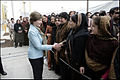 Laura Bush greets Afghan women in Kabul.jpg