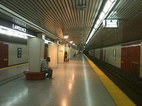 Image illustrative de l'article Lawrence (métro de Toronto)