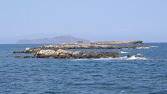 Lazaretta - The island of Lazaretta.