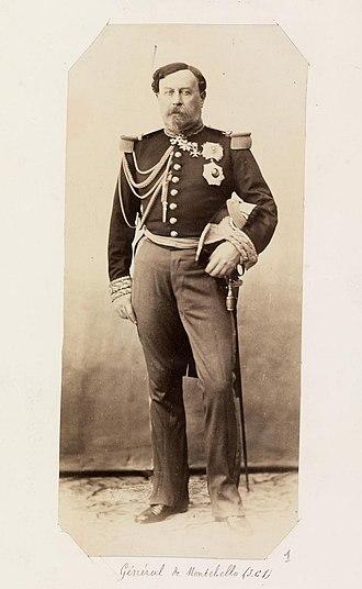 Gustave Olivier Lannes de Montebello - Photographic portrait of Le Comte de Montebello by Gustave Le Gray