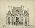 Le château de Brouchetière, élévation.jpg