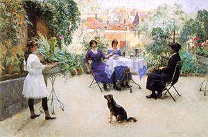 Évariste Carpentier - Le goûter des dames