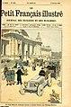 Le petit Français ill 1904, Le train Renard, évoluant devant le Grand Palais aux Champs Élysées.jpg