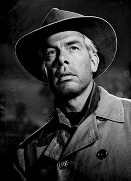 "Lee Marvin als Conny Miller in de aflevering ""The Grave"""