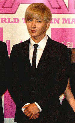Leeteuk at the I AM. Preview.jpg
