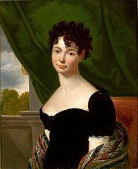 Portrait of Maria Urszuli z Radziwiłłów Krasińskiej