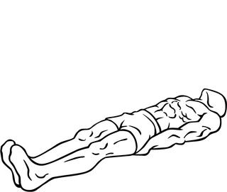 Leg raise strength training exercise