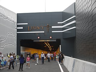Legacy Way motorway tunnel in Brisbane