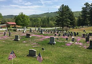 Sullivan County, New Hampshire - Image: Lempster NH Wind Farm Cemetery