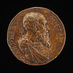 Andrea Doria, 1466-1560, Genoese Admiral [obverse]