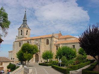 Lerma, Province of Burgos - Image: Lermacolegiata lou 19