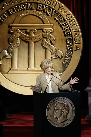 Lesley Stahl - Lesley Stahl hosting the 67th Annual Peabody Awards