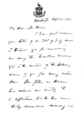 Letter from William H Seward to Joseph Heco regarding assassination of Abraham Lincoln - page 1.png
