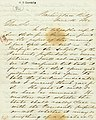 Letter signed J.B. Henderson, Washington City, to His Excellency H.R. Gamble, June 16, 1862.jpg
