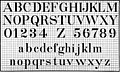 Lettering for draftsmen, engineers and students; a practical system of freehand lettering for working drawings (1917) (14596854248).jpg