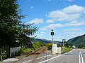 Level crossing on the A890 - geograph.org.uk - 1355257.jpg