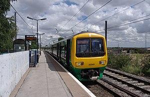 Lichfield Trent Valley railway station - The (High Level) Cross-City Line terminus platform.