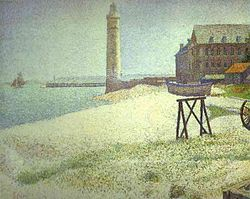 Georges Seurat: The Lighthouse at Honfleur