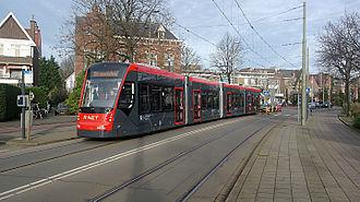 HTM Personenvervoer - Image: Lijn 2.5023b.Lippe Biesterfeldweg.2015