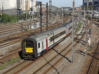 railway line in Belgium