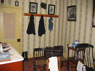 Petersen House - Image: Lincoln death room