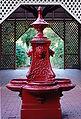 Lion fountain - Botanic gardens.JPG