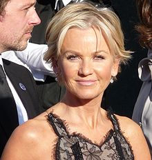 Lisa Maxwell and Dominic Power at the BAFTA's.jpg