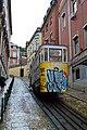 Lisbon - Funicular Tram (26939304896).jpg